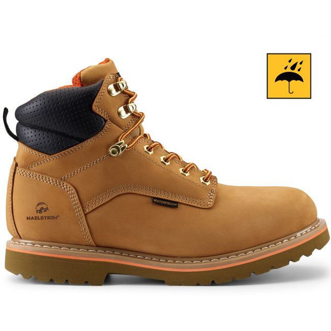 "CLASSIC LITE 6"" Men's Tan Waterproof Work Boot"