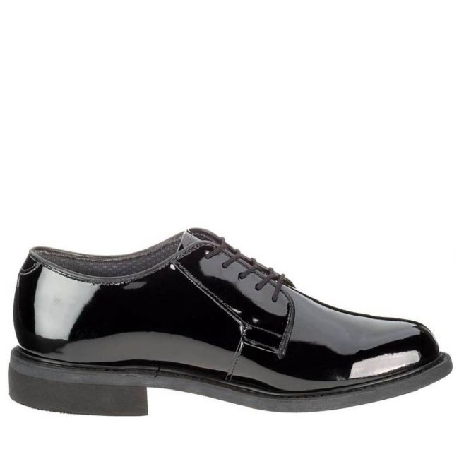 GLOSS OXFORD Men's Black High Gloss Oxford Shoe