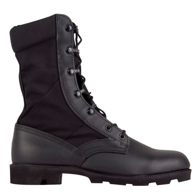 "COMMANDO 9"" Mil Spec Military Combat Boot with Vulcanized Sole and Spike Protection"